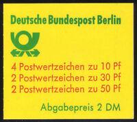 Berlin Markenheftchen MH 11 h oZ , ** ,