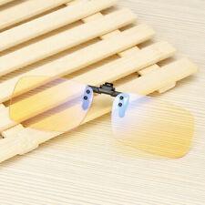 Filter Blue Light Blocking Clip-on Computer Glasses Rimless Sunglasses G527