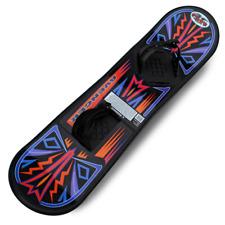 Avenger Kids Teens Beginner Plastic Snowboard with Foot Straps  great  beginners