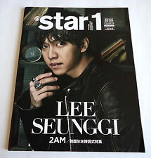 LEE SEUNG GI atstar1 JAPAN MAGAZINE 2013 2AM Girls Generation SNSD