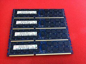 Hynix 32GB(4 x 8GB) HMT31GR7BFR4A-H9 PC3L-10600R DDR3 ECC Server RAM - R790