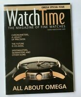 Watchtime Magazine OMEGA Special Issue - All about Omega  - 2008 OUT OF PRINT