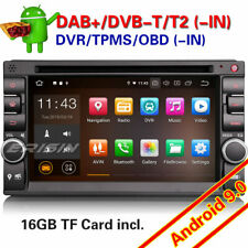 2 Din For Nissan Android 9.0 Car Stereo Double Navi Radio DAB+DVR Bluetooth 4836
