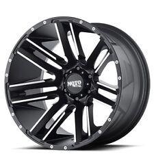 "New(4) Off Road 20x10"" Moto Metal Wheels MO978 Black Rims FH"