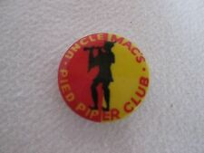 Uncle Mac's Pied Piper Club Badge