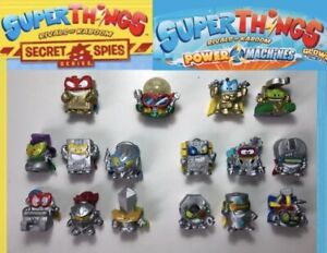 SUPERTHINGS SERIE 7 SERIE 6 Y 5 PLATAS OROS ULTRA RARO DOCTOR VOLT SUPERZINGS