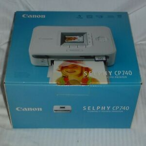 Canon Selphy CP 740 Canon SELPHY CP740 Thermodrucker mit Papier