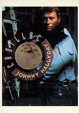 JOHNNY HALLYDAY 90s CARTE POSTALE VINTAGE #23
