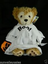 "Disney Parks Duffy Bear BOO Halloween Ghost 9"" Hidden Mickey Plush Doll NEW Rare"