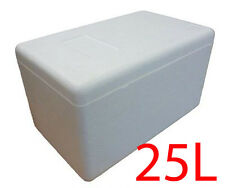 25L XL Polystyrene styrofoam padded foam cooler ice picnic box planter icebox