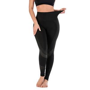 UK Womens Anti-Cellulite Yoga Pants Sexy Leggings Fitness Workout Push Up New