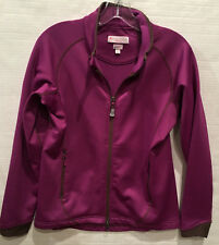 Peter Millar Warmth Element 4 Fleece Lined Golf Jacket Womens S Small Purple