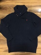 RALPH LAUREN POLO BOYS Chunky Cardigan Taille L (14-16)