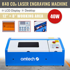 Omtech Upgraded 40w 12x8 In Co2 Laser Engraving Cutting Machine Engraver Cutter