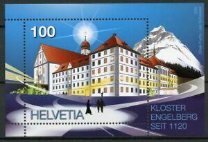 Switzerland Architecture Stamps 2020 MNH Engelberg Monastery Religion 1v M/S
