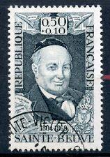 TIMBRE FRANCE OBLITERE N° 1592  CELEBRITE DU XVIII° AU XX° SAINTE BEUVE POETE