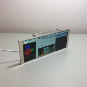 "BeadaPanel 6.8"" LCD Display USB Single Cable Monitor for Raspberry Pi 4B"