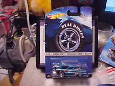 Hot Wheels Real Rider Series Custom Chevy Greenbrier Sports Wagon
