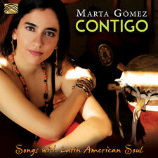 Marta Gomez - Contigo-Songs with Latin American Soul [New CD]