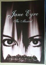 Theatre Souvenir Programme JANE EYRE THE MUSICAL GRANGE COMMUNITY SCHOOL BRISTOL