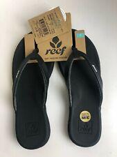 Reef Rover Catch Women's Flip Flops Black Size 7 (2004010930)
