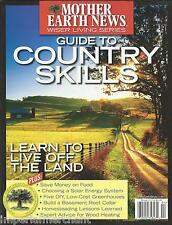 Mother Earth News Magazine Country Skills Guide Solar Energy System Greenhouses