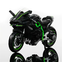1:18 Kawasaki Ninja H2 R Motorcycle Model Collection Maisto Motorbike Kids Toy