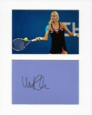 Tennis Urszula Radwanska genuine authentic autograph signature and photo AFTAL