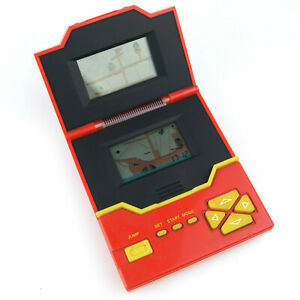 Vintage Pirate Tandy Red Double Screen Handheld LCD Electronic Platform Game