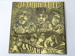 JETHRO TULL Stand Up LP pink Island 849303 UY gatefold gimmick cover
