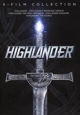 HIGHLANDER: 5-FILM COLLECTION NEW DVD