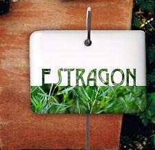 Kräuterschild Porzellan Estragon