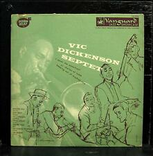"VIC DICKENSON SEPTET vol II 10"" VG+ VRS-8002 Vanguard 1953 Downbeat Jazz USA"