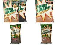Dynamite Baits Frenzied Hempseed Groundbait Range Worm - Caster - Black - Coarse