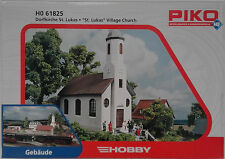 "PIKO 61825 ""St. Lukas"" Village Church 00/H0 Plastic Model Rail Kit"