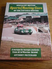 SPECIALIST BRITISH SPORTS AND RACING CARS OF THE 50'S & 60'S MOTORSPORT BOOK jm