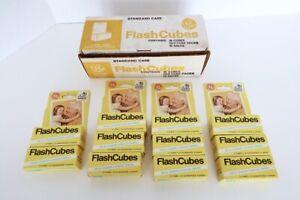 Vintage GE Flash Cubes 3 Cube Packs 11 Piece Lot Original Boxes 132 Flashes