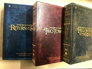 The Lord of the Rings set (DVD, Special Extended DVD Edition, Collectors) - STK
