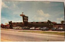 postcard Old Cars South of the Border Dillon S. Carolina US Highways 301 501 95