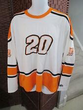 NASCAR Tony Stewart # 20 Hockey Jersey Shirt Mens XL Home Depot Joe Gibbs Racing