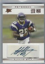 2007 Adrian Peterson Topps Performance RC Auto #/99