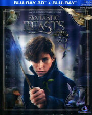Fantastic Beasts and Where to Find Them 3D Blu-ray (with Lenticular cover)