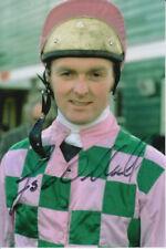 JONJO O'NEILL HAND SIGNED 6X4 PHOTO HORSE RACING 1.