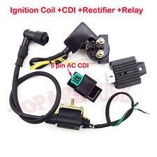 Ignition Coil CDI Rectifier Relay 50cc 70cc 90 110 cc Chinese Quad ATV 4 Wheeler