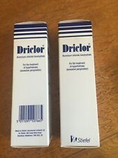 TWO packs Driclor Antiperspirant 75 ML Roll-On Expiry date 6/2018 (out of date)