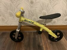 Micro Balance Bike Yellow