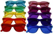 Hipster Mens Designer Sunglasses Set of 10 Colors Retro Vintage Wayfarer
