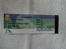 Ticket CL 01/02 Schalke 04 - Real Mallorca