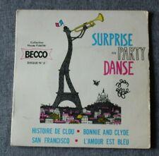 Surprise party danse, bonnie and clyde / San Francisco + 2, EP - 45 tours