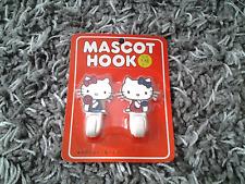 NIP Vintage 1976 Sanrio Hello Kitty mascot hooks New